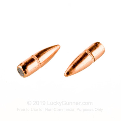 Large image of Hornady .223/5.56 Bullets For Sale - 223/556 55gr FMJ-BT bullets by Hornady