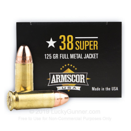 Image 1 of Armscor .38 Super Ammo