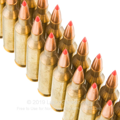 Large image of Premium 243 Ammo For Sale - 80 Grain GMX  Ammunition in Stock by Hornady Superformance - 20 Rounds