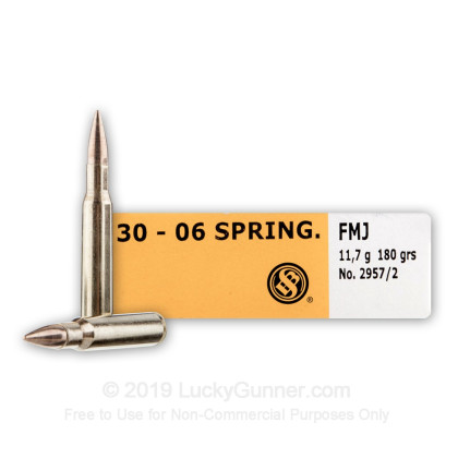 Image 1 of Sellier & Bellot .30-06 Ammo