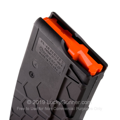 Large image of Hexmag AR-15 30rd - 5.56/.223 - Black - Series 2 Magazine For Sale