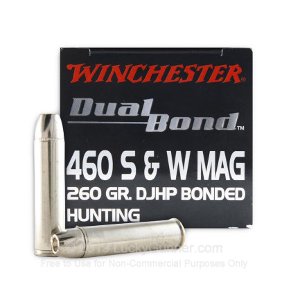 Image 1 of Winchester .460 Smith & Wesson Ammo