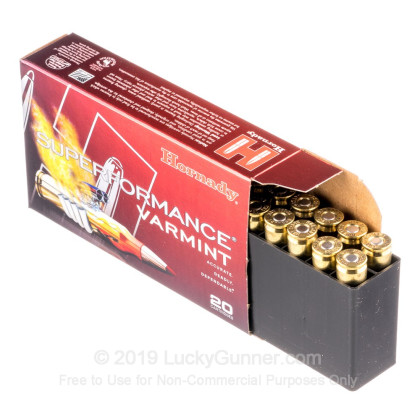 Image 3 of Hornady .22-250 Remington Ammo