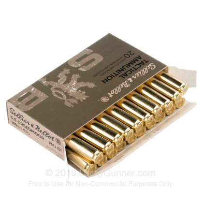 Image 3 of Sellier & Bellot 6.5mm Creedmoor Ammo