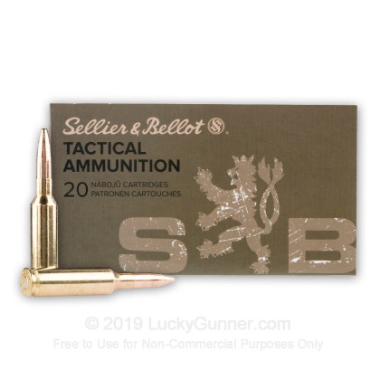 Image 2 of Sellier & Bellot 6.5mm Creedmoor Ammo