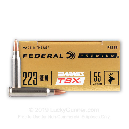 Image 1 of Federal .223 Remington Ammo