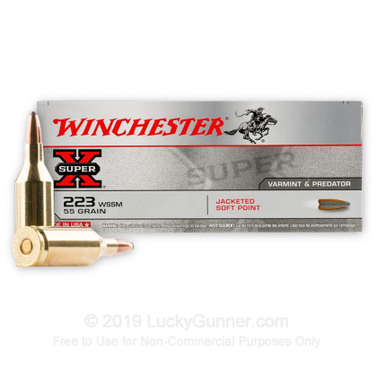 Image 2 of Winchester .223 WSSM Ammo