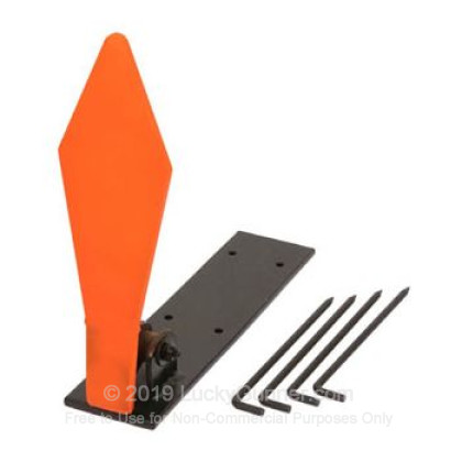 Large image of Champion Diamond Pop Up Metal Targets For Sale - Orange Steel Target In Stock