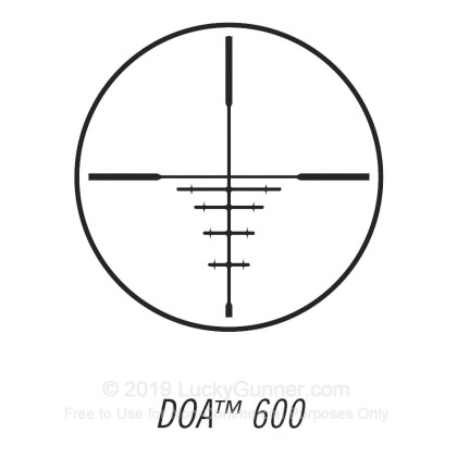 Large image of Rifle Scope For Sale - 4-12x - 40mm 734120B - DOA 600 Deer Hunting - Black Matte Bushnell Optics Rifle Scopes in Stock