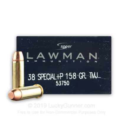 Image 1 of Speer .38 Special Ammo