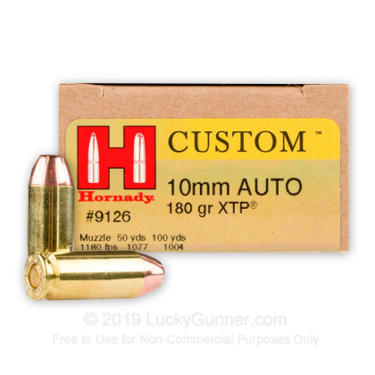 Image 1 of Hornady 10mm Auto Ammo