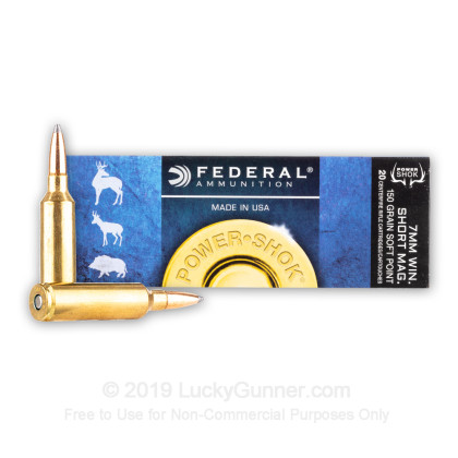 Image 2 of Federal 7mm Winchester Short Magnum Ammo