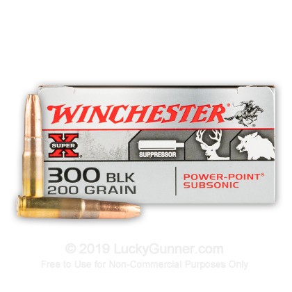 Image 1 of Winchester .300 Blackout Ammo