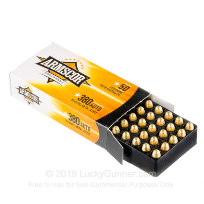 Image 3 of Armscor .380 Auto (ACP) Ammo