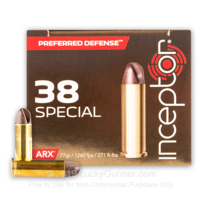 Image 2 of Inceptor .38 Special Ammo