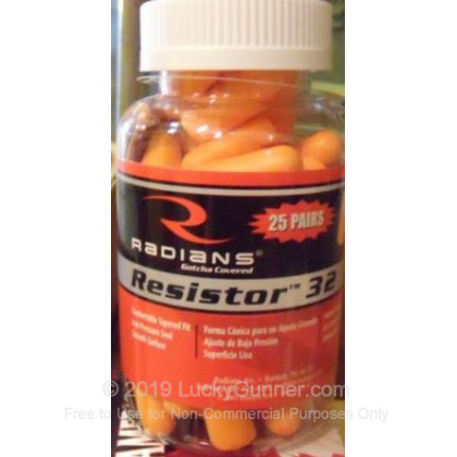 Large image of Radians Foam Ear Plugs For Sale - 32 NRR - Radians Hearing Protection in Stock