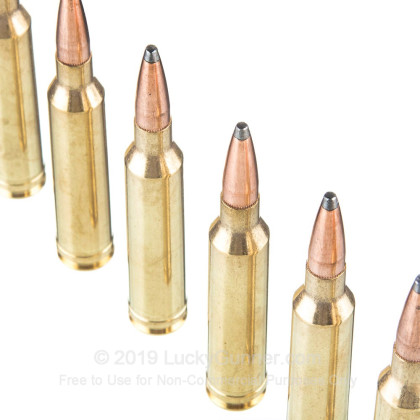 7mm Rem Mag - 154 Grain Interlock Spire Point - Hornady American Whitetail  - 20 Rounds