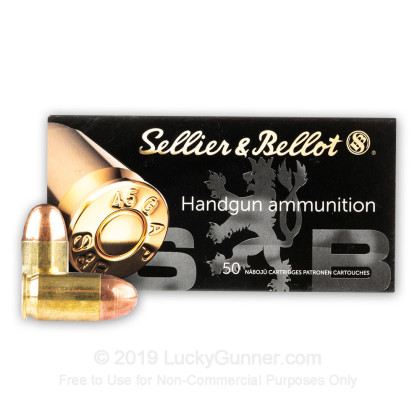Image 2 of Sellier & Bellot .45 GAP Ammo
