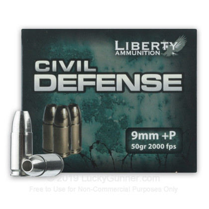 Image 1 of Liberty Ammunition 9mm Luger (9x19) Ammo