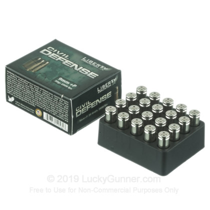Image 3 of Liberty Ammunition 9mm Luger (9x19) Ammo