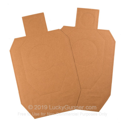 Large image of Targets - Target Barn - IDPA Cardboard Silhouette - 100 Targets In Stock