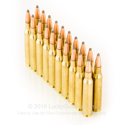 Large image of Cheap 270 Win Ammo In Stock  - 150 Grain Hornady SP Interlock Ammunition For Sale Online - 20 Rounds