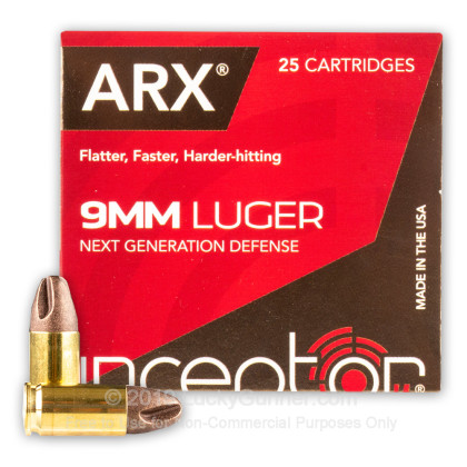 Image 2 of Inceptor 9mm Luger (9x19) Ammo