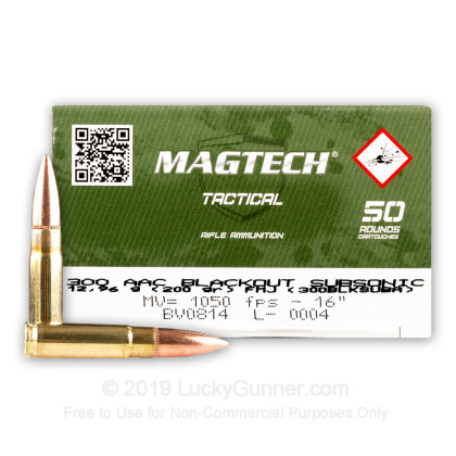 Image 1 of Magtech .300 Blackout Ammo