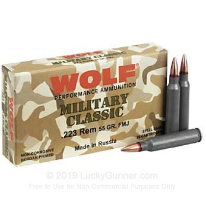 Image 8 of Wolf .223 Remington Ammo