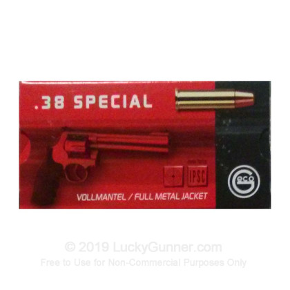 Image 3 of GECO .38 Special Ammo