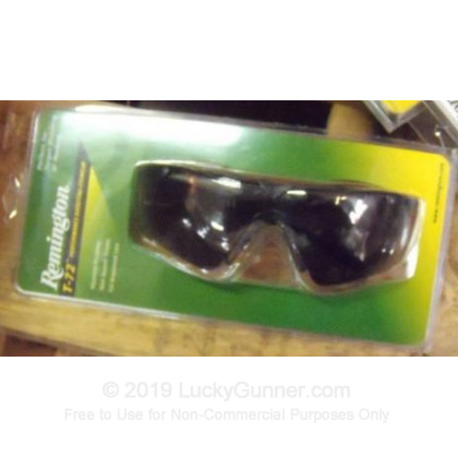 Large image of Remington Smoke Shooting Glasses For Sale - T72-20 - Remington Glasses in Stock