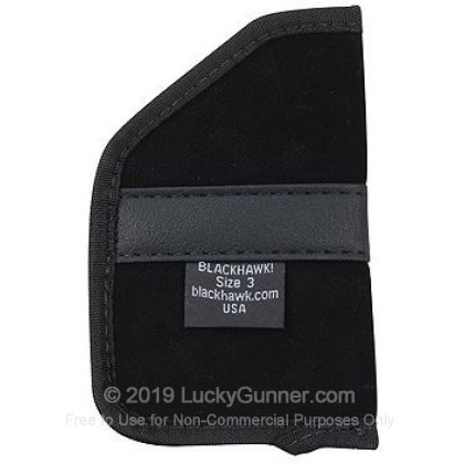 Holster - Pocket - Blackhawk - Ambidextrous - Sub-Compact 9mm/40 S&W  Semi-Autos and Ruger LCR - 1