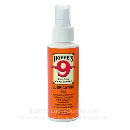Large image of Gun Oil - Lubricant - 4 oz Pump - Hoppes For Sale