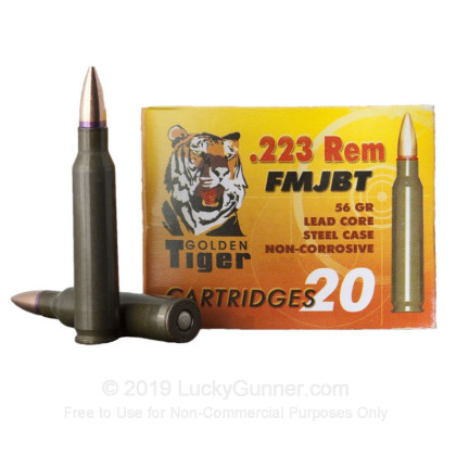 Image 2 of Golden Tiger .223 Remington Ammo