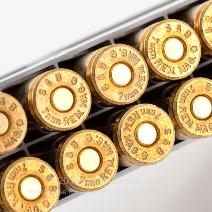 Image 7 of Sellier & Bellot 7mm Remington Magnum Ammo