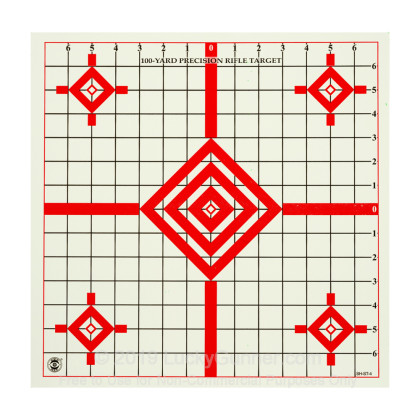 "Large image of See Hit ST-4 Targets For Sale - 6 - 15"" Targets - National Target Company Targets For Sale"