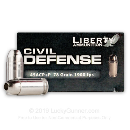 Image 1 of Liberty Ammunition .45 ACP (Auto) Ammo