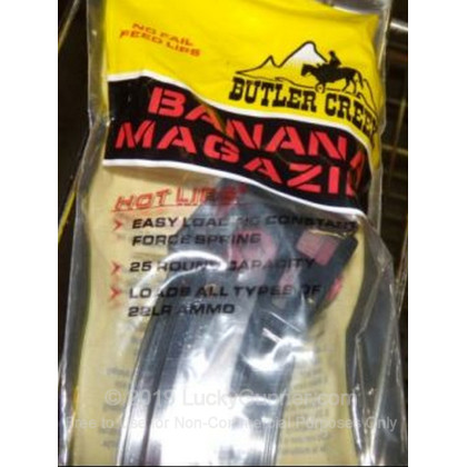 Large image of Butler Creek 10/22 Hot Lips High Capacity Magazine For Sale - 25 Rounds