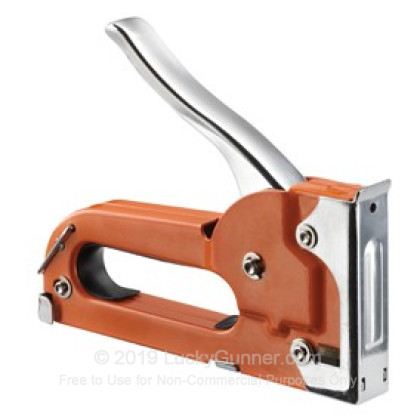 Large image of Champion Target Staple Gun For Sale - Orange Steel Staple Gun In Stock