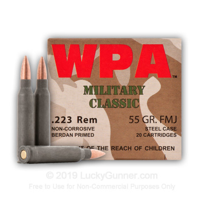 Image 4 of Wolf .223 Remington Ammo