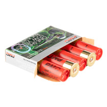 "LE 12 ga Ammo For Sale - 2-3/4"" #4 Buck Low Velocity 28 Pellet Ammunition by PMC - 5 Rounds"