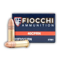 22 LR Ammo For Sale - 40 gr CPRN - Fiocchi Ammo In Stock - 50 Rounds