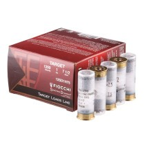 """Cheap 12 ga Target Shells For Sale - 2-3/4"""" 1 oz #7-1/2 Target Shell Ammunition by Fiocchi - 25 Rounds"""
