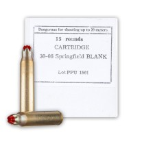 Cheap 30-06 Ammo For Sale - Blank M-1999 (Standard Case) in Stock by Prvi Partizan - 15 Rounds