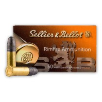 Cheap 22 LR Ammo For Sale - 40 Grain LRN Ammunition in Stock by Sellier & Bellot - 50 Rounds