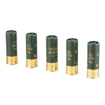 "Cheap 12 Gauge Ammo For Sale - 2-3/4"" 1-1/4 oz. #8 Shot Ammunition in Stock by Fiocchi Optima Specific HV - 25 Rounds"