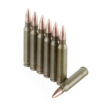 Cheap Brown Bear 223 Rem Ammo For Sale - 55 grain FMJ Lacquer Coated Ammunition In Stock - 20 Rounds