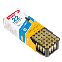 Cheap 22 LR Ammo For Sale - 40 Grain LRN Ammunition in Stock by Aguila Super Extra - 50 Rounds