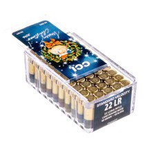 Cheap 22LR Ammo For Sale - 40 Grain LRN Ammunition in Stock by CCI Christmas Gift Pack - 50 Rounds