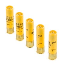 """Cheap 20 ga High Velocity Shot Shells For Sale - 3"""" 1-1/4oz  #7.5 Shot by by Fiocchi - 25 Rounds"""